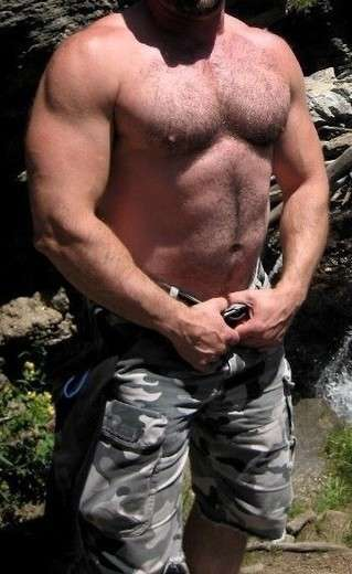 MUSCULAR, MASCULINE, BEEFY, MANLY, POLITE - Gay Male Escort in Washington, DC - Main Photo